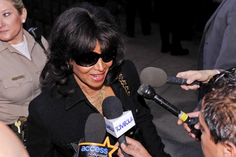 Michael Jackson's sister Rebbie Jackson makes comments and expresses her disappointment at the sentencing hearing of Dr. Conrad Murray, in Los Angeles