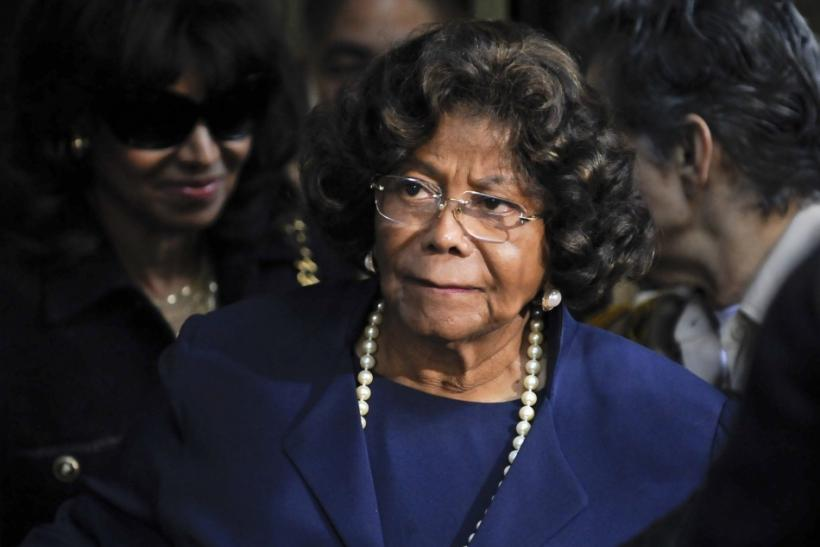 Katherine Jackson leaves the sentencing hearing of Dr. Conrad Murray in Los Angeles