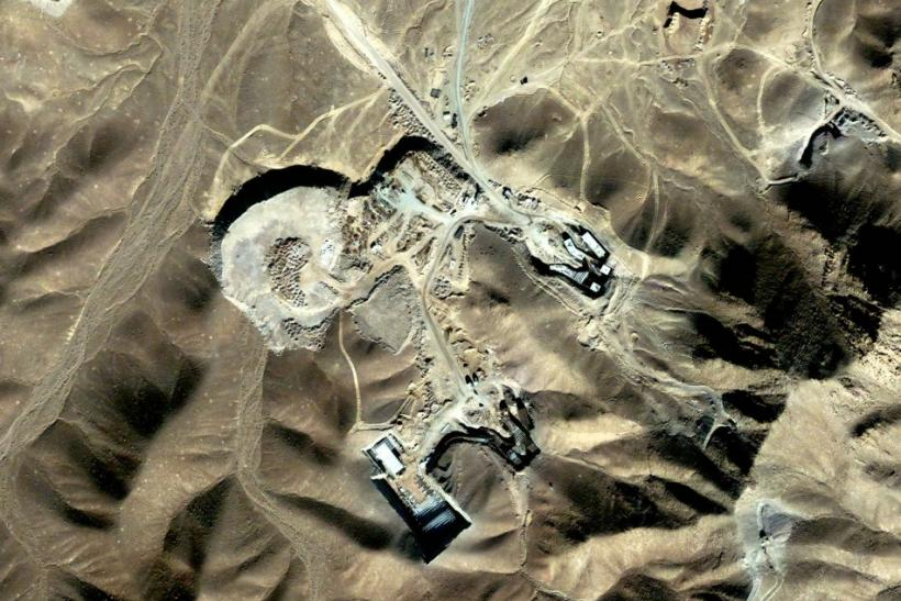 Satellite photo Iran