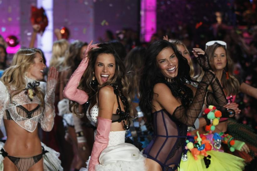 Adriana Lima and Alessandra Ambrosio in 2011