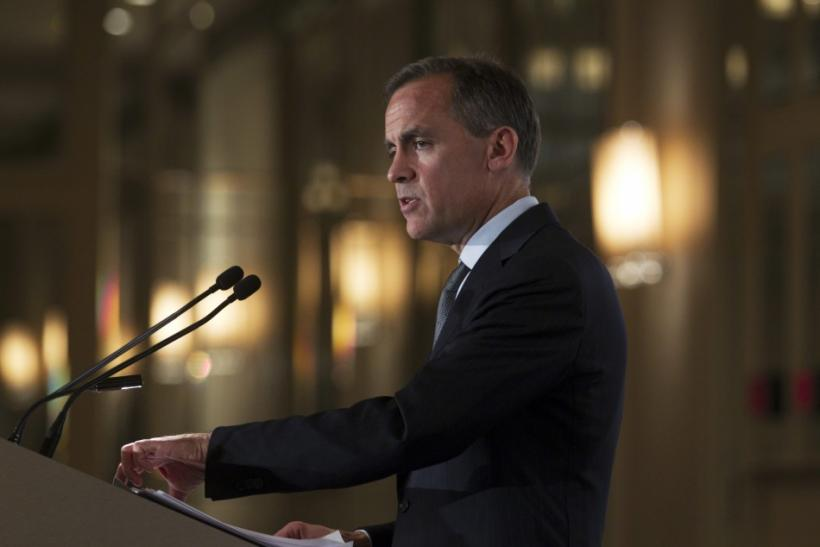 Bank of Canada Governor Carney speaks in Montreal