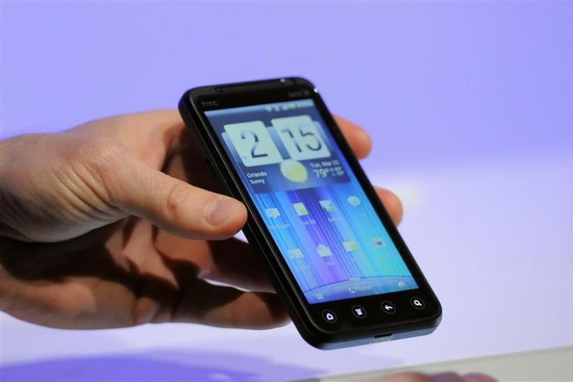 Sprint's HTC Evo 3D phone is unveiled at the International CTIA wireless industry conference, at the Orange County Convention Center in Orlando