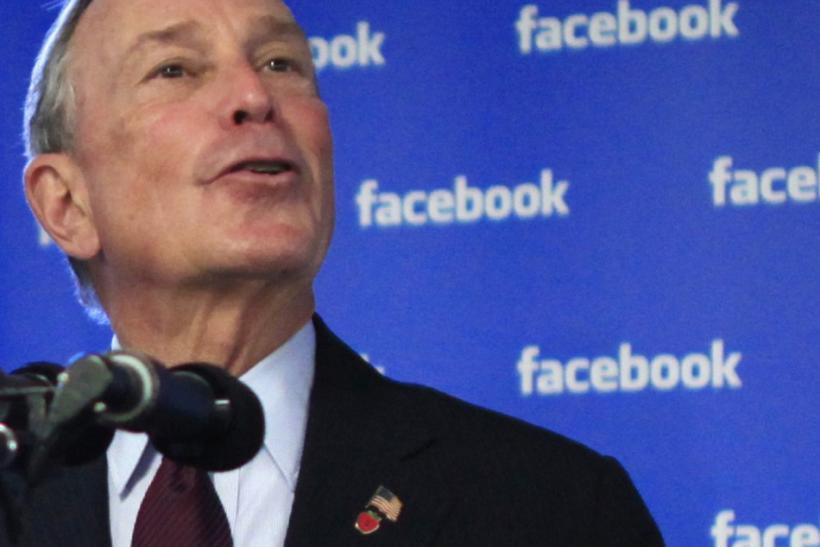 New York Mayor Michael Bloomberg and Sen. Charles Schumer urged developers to move to New York and join Facebook.