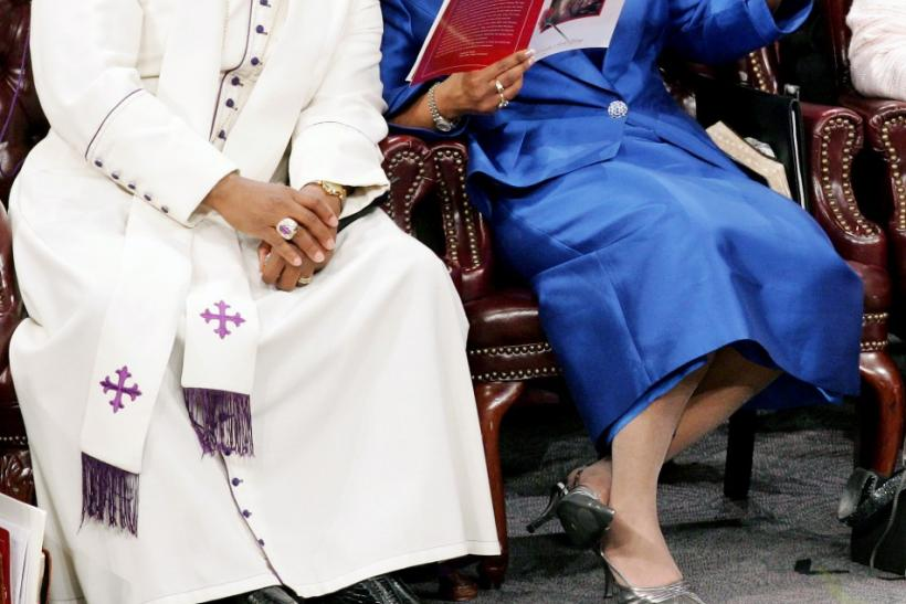 New Birth Missionary Baptist Church Bishop Eddie Long said on Sunday that he's taking a leave from the church to focus on his family after his wife filed for divorce on Friday, according to reports.