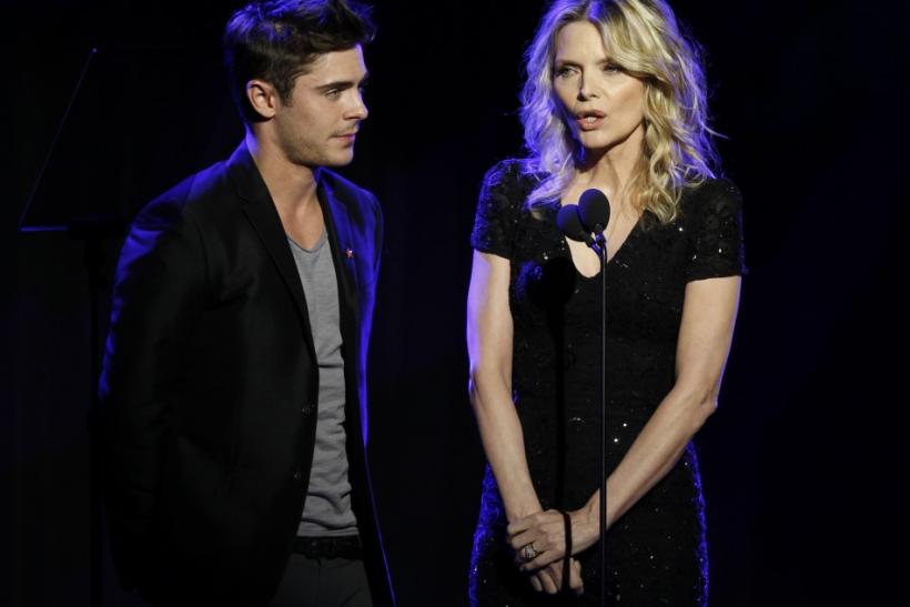 Zac Efron, Michelle Pfeiffer