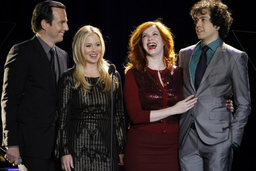 Will Arnett, Christina Applegate, Christina Hendricks, Geoffrey Arend