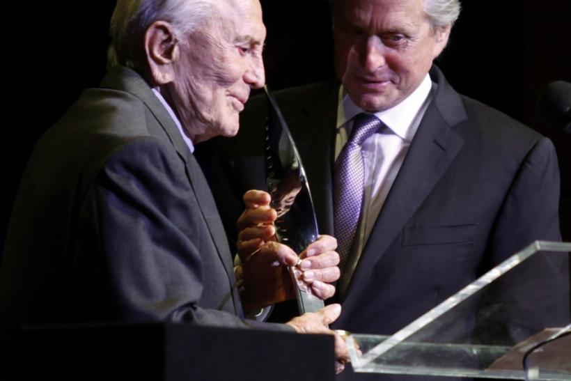Kirk Douglas turns 95: Still Looking Good