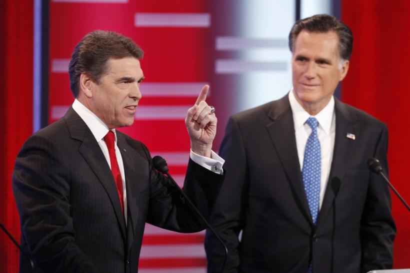 Romney and Perry