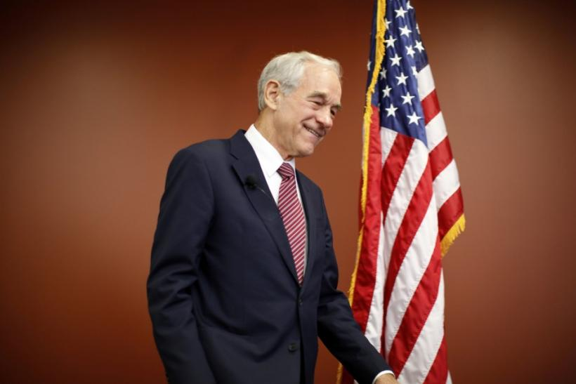 U.S. Republican presidential candidate and Congressman Ron Paul