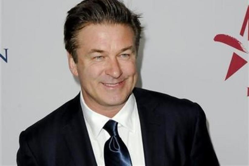 Actor Alec Baldwin arrives at the 30th anniversary of the People For The American Way Foundation celebration in Beverly Hills, California