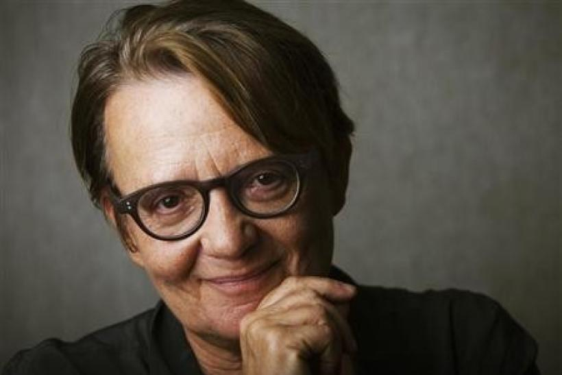 Director Agnieszka Holland of the film ''In Darkness'' poses for a portrait during the 36th Toronto International Film Festival (TIFF) in Toronto