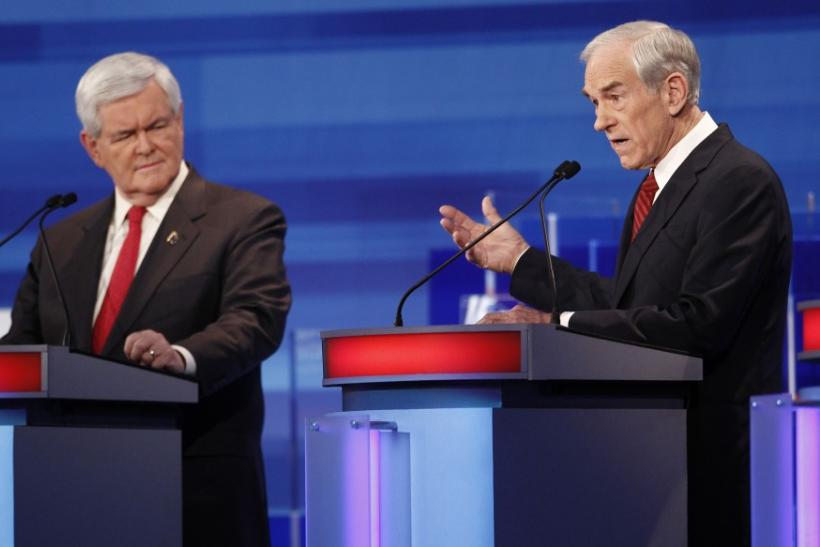 Newt Gingrich and Ron Paul