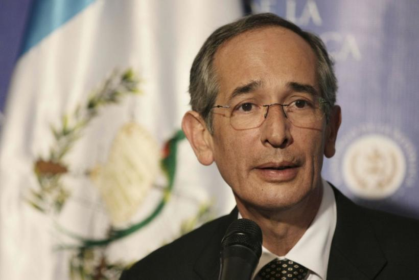 Guatemalan president Alvaro Colom sorry for Dos Erres