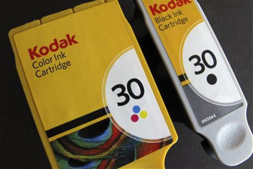 Kodak printer ink cartridges are shown in this illustrative photograph taken in Encinitas