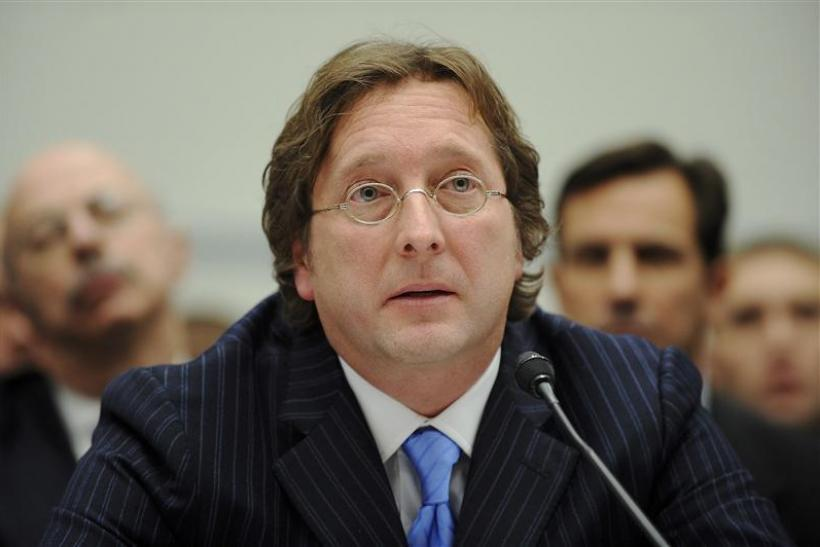 Philip Falcone testifies before a U.S. House committee