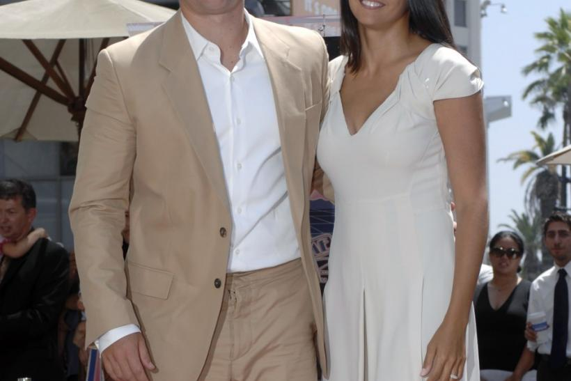 Matt Damon and Luciana Barroso