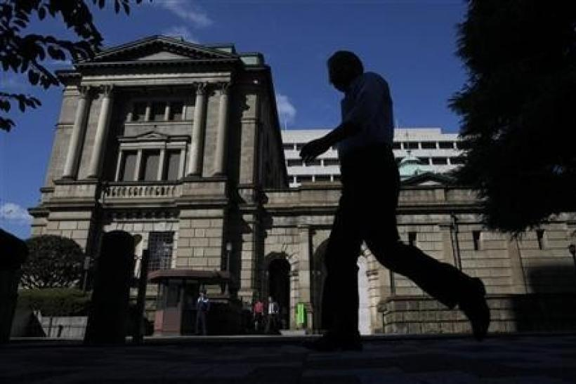 BOJ warns of economic standstill as exports slump