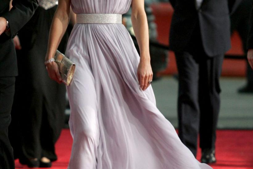 Kate Middleton in Sarah Burton for Alexander McQueen