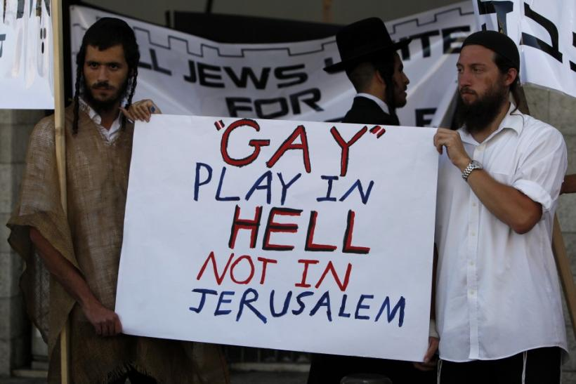 Israel Homosexuality Protest