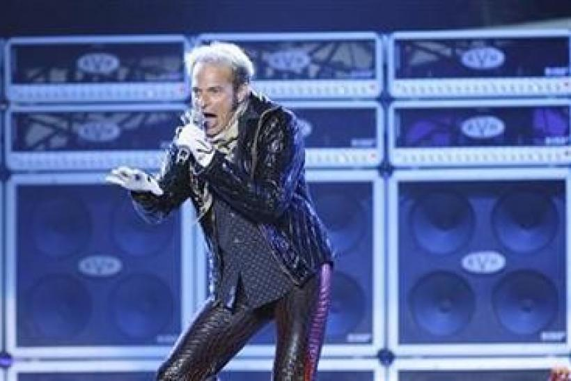 David Lee Roth of Van Halen performs at Tiger Jam XI in Las Vegas