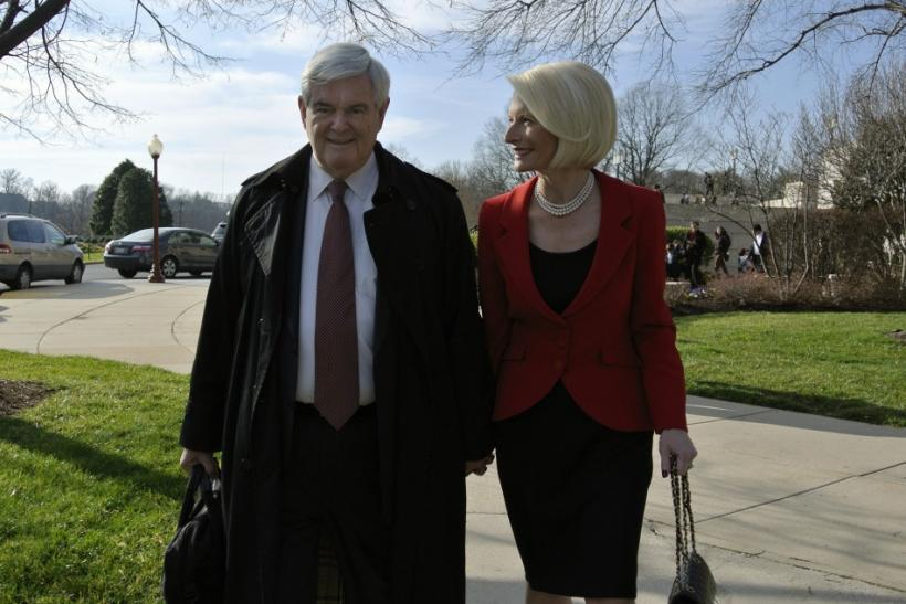 Gingrich and Callista
