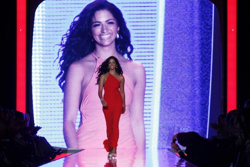 Camila Alves on the Runway