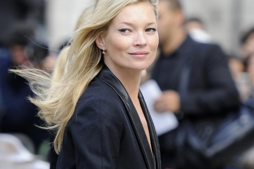 British model Kate Moss poses nude for 2012 Pirelli Calendar