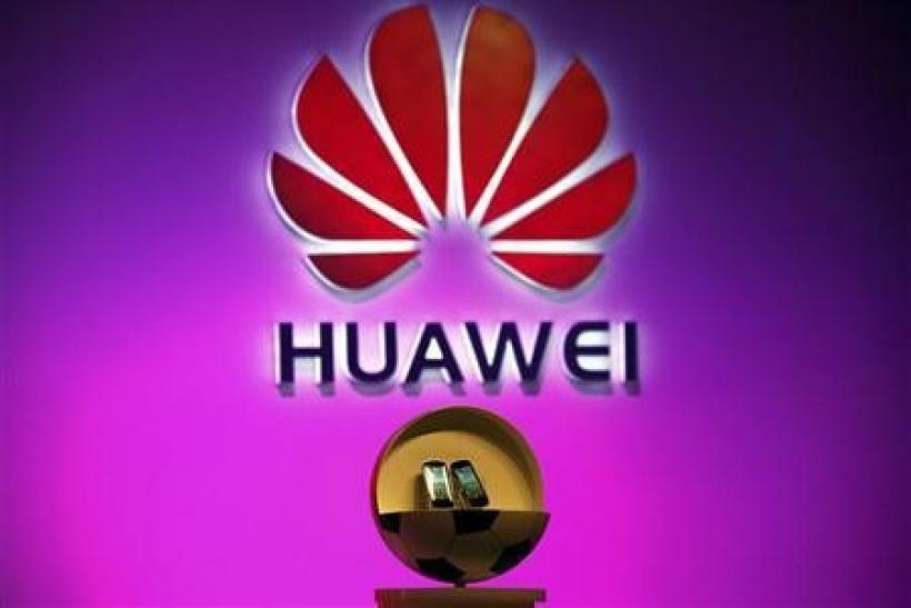 Two new cloud-based smartphones called 'Vision' made by Huawei Technologies Co Ltd, the world's No. 2 network equipment maker, can be seen during an official launch ceremony in Beijing August 3, 2011.