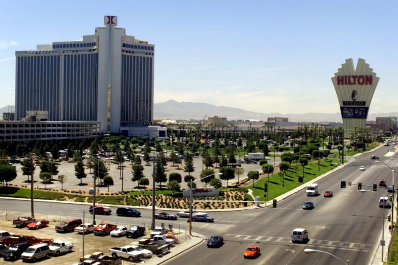 Las Vegas Hilton hotel and casino, shown in this July 12, 2000 photo