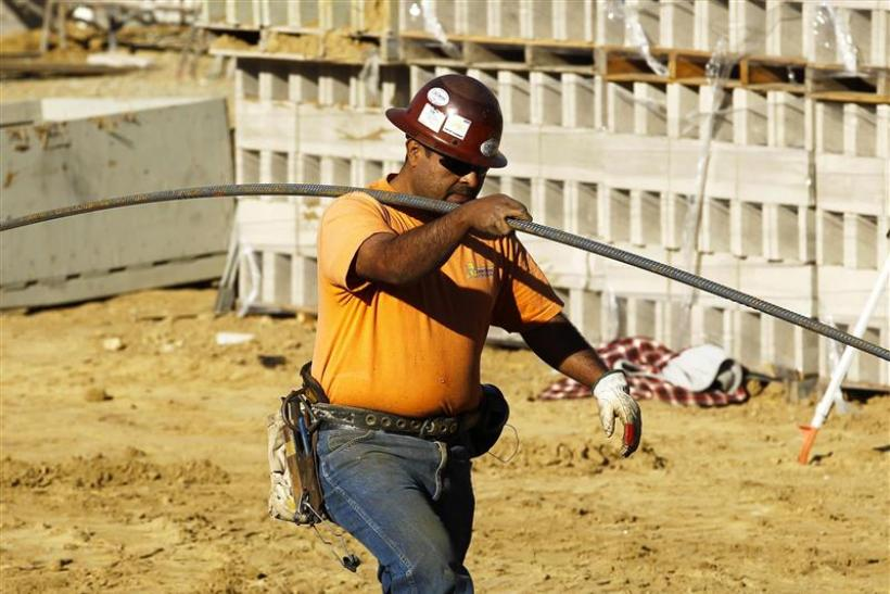Construction workers on the job in the U.S.