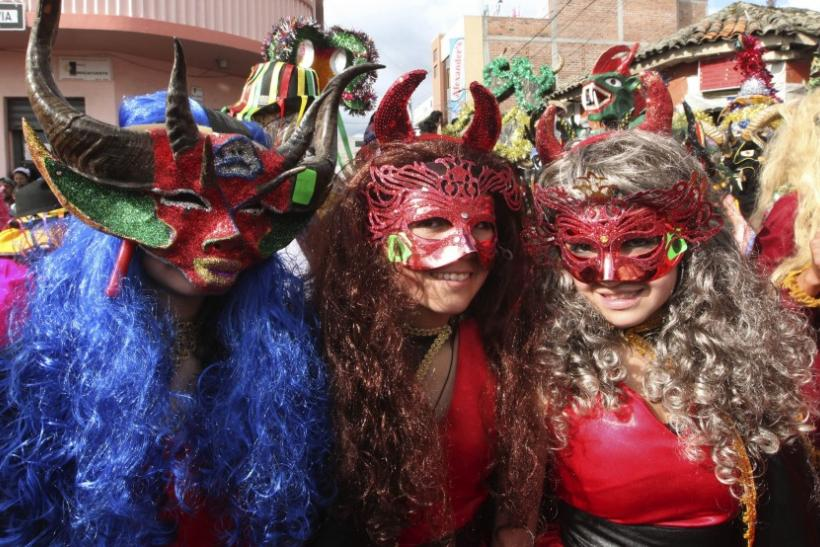 Diablada: Dance of the Devils Observed in Pillaro, Ecuador