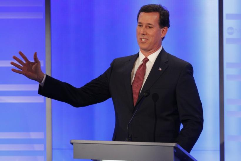 Rick Santorum is the projected winner of the Republican caucus in Kansas.