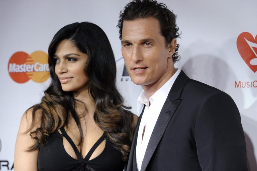 Actor McConaughey and Alves