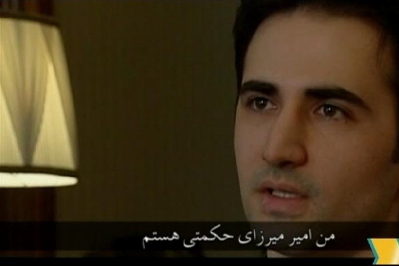 Video grab of Amir Mirzayi Hekmati