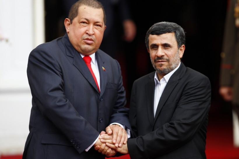 Ahmadinejad And Chavez