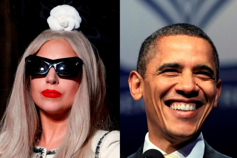 President Obama and Lady Gaga