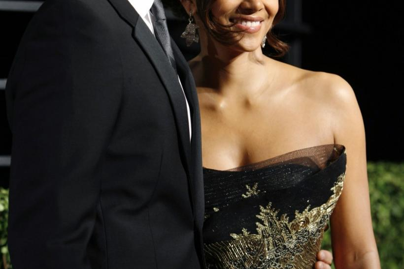 Halle Berry and Gabriel Aubrey