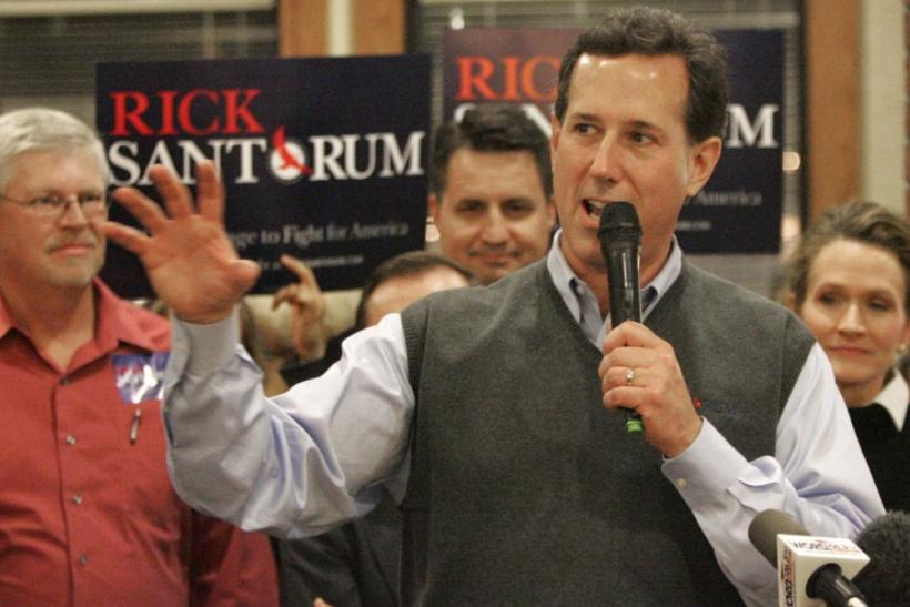 Rick Santorum's Sweater Vests