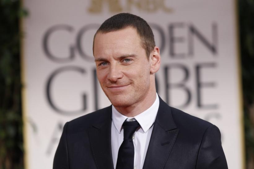"Actor Michael Fassbender, from the film ""Shame"", arrives at the 69th annual Golden Globe Awards in Beverly Hills"