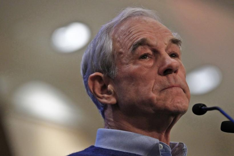 Economist Nassim Taleb believes Texas Congressman Ron Paul is the only presidential candidate who can fix America's economic problems