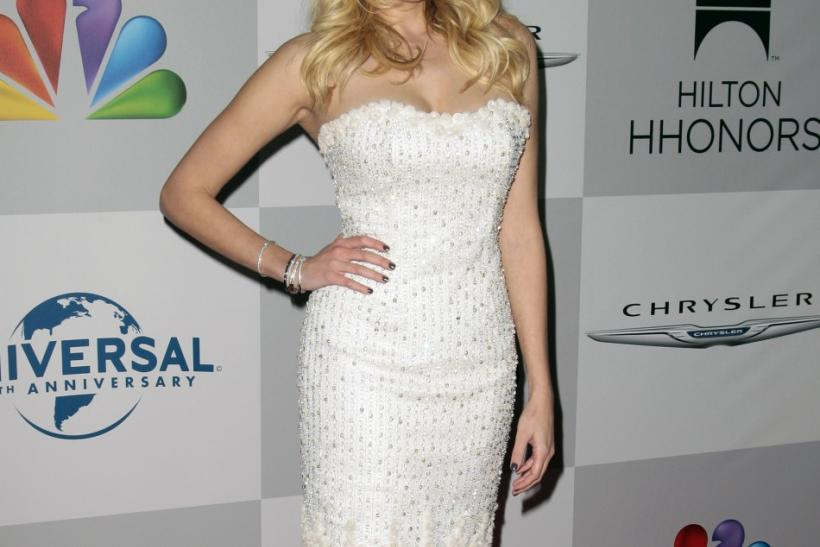 Actress Ashlan Gorse arrives at the NBC Universal after party after the 69th annual Golden Globe Awards in Beverly Hills, California January 15, 2012.