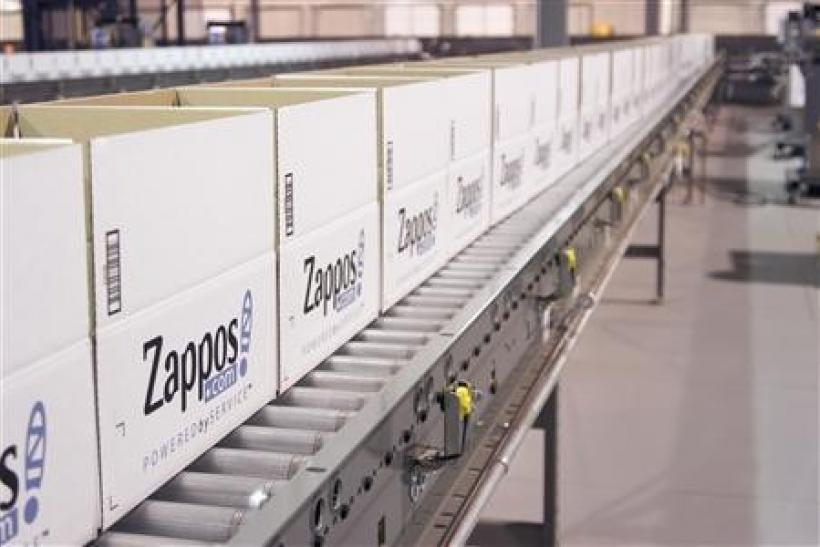 A Kentucky warehouse for Zappos.com is seen in an undated handout photo.