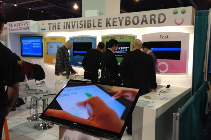 The Invisible Keyboard