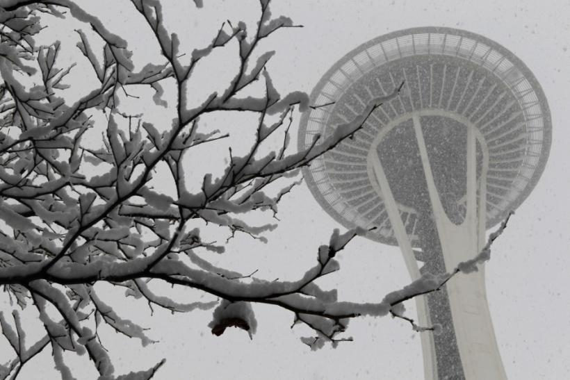 Seattle Snow Storm 2012