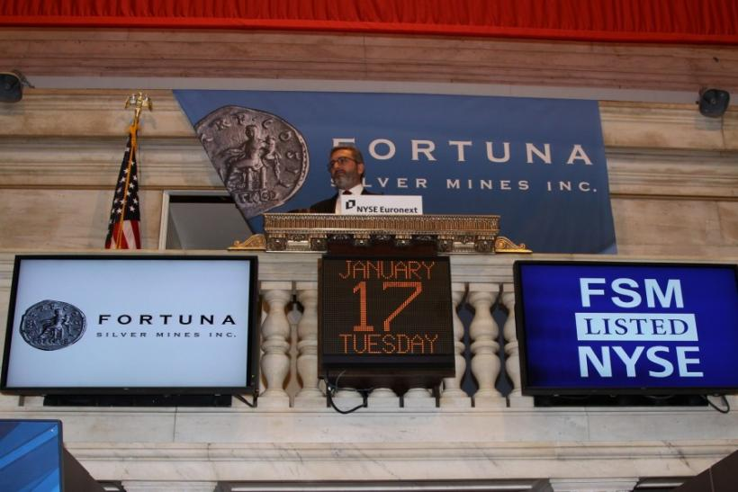 Fortuna CEO at the NYSE