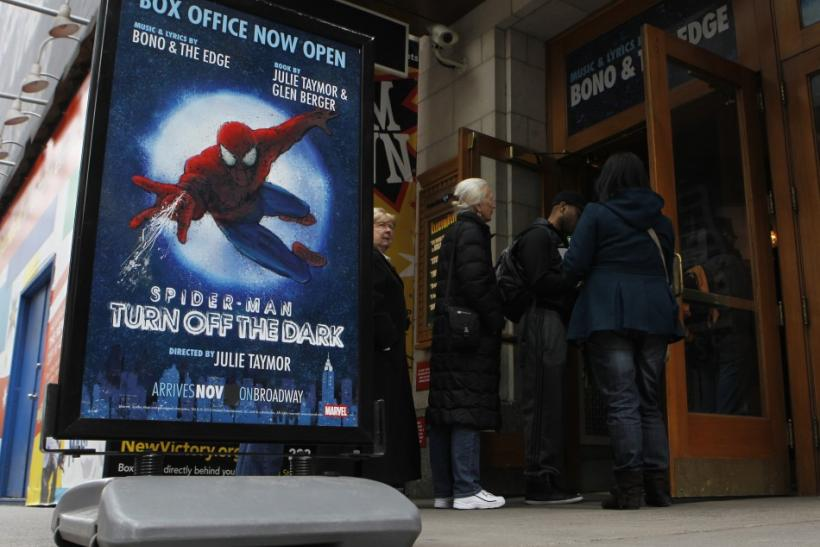 """Spider-Man"" Broadway producers sue director Taymor"