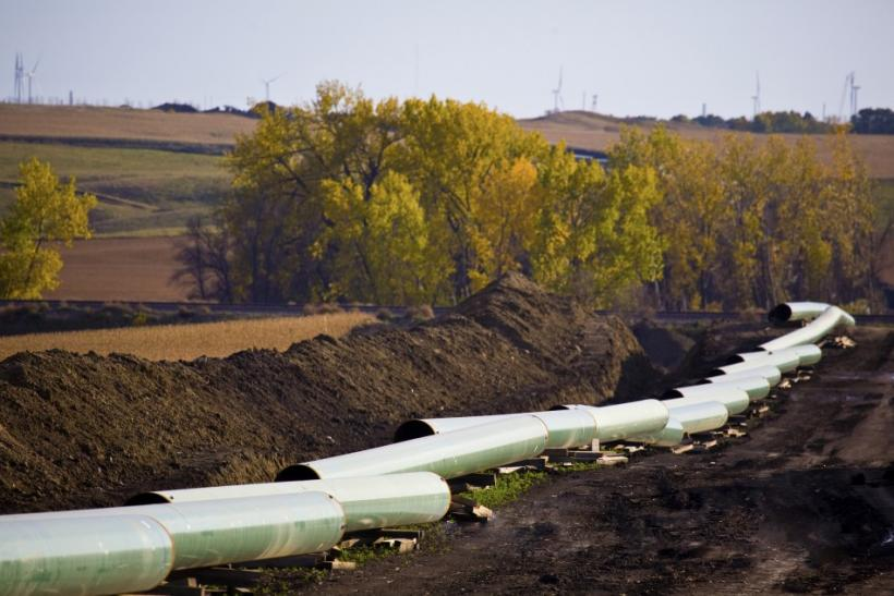 Keystone Pipeline, North Dakota