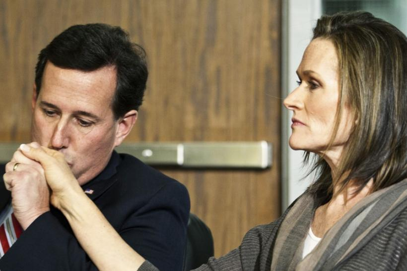 Rick Santorum Calls Anti-Abortion Attack on Wife Karen 'Ugly, Cheap, Tawdry'