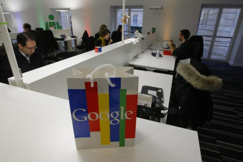 Inside view of the new headquarters of Google France