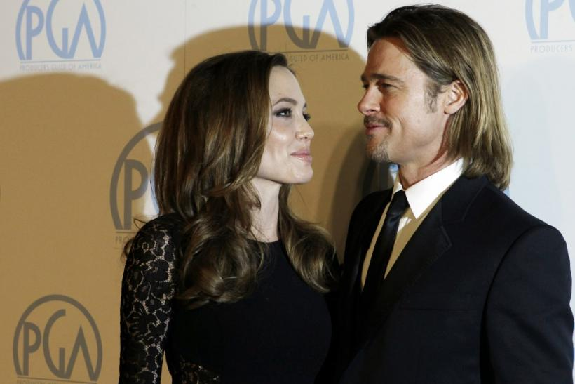 Power Couple Angelina Jolie, Brad Pitt Sizzles at the 23rd Producer's Guild Award
